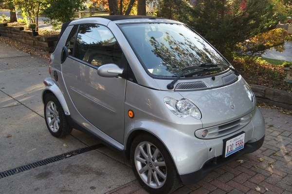 2006 Smart Car Passion Fourtwo Turbo Diesel 450 Cdi Tdi