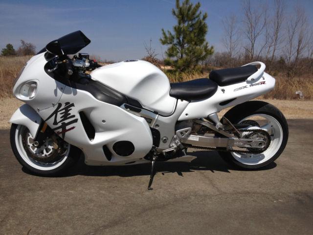 2006 Suzuki Gsx1300r Hayabusa Stretched Fast Low Mileage Clean Title
