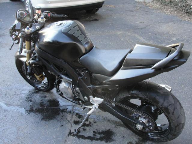 2006 Suzuki SV1000 Custom Streetfighter Hooligan Bike