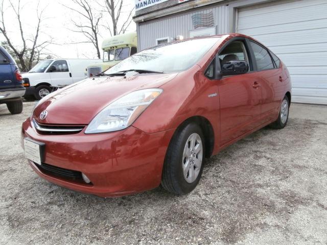 2006 Toyota Prius Base Hatchback 4 Door 1 5l Extreme Gas Mileage No Reserve