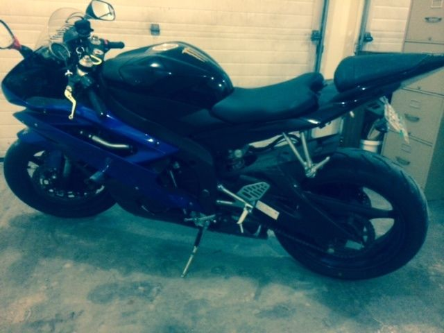 2006 Yamaha R6 R Motorcycle - Parts only bill of sale only