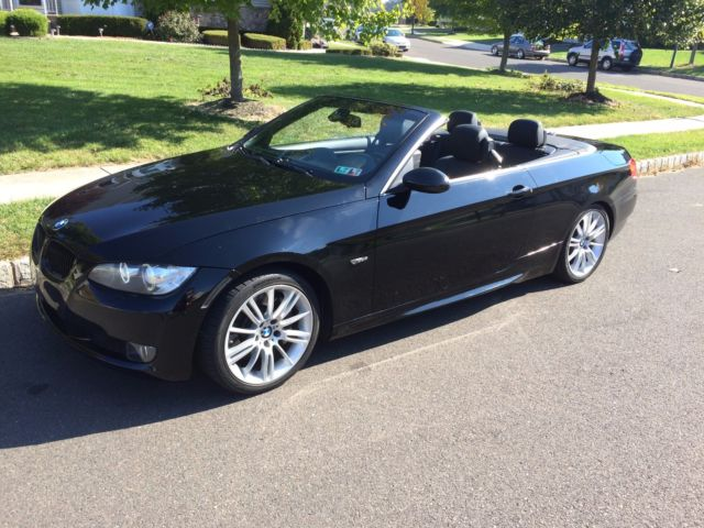 2007 bmw 335i hardtop convertible rare black on black clean carfax only 69k. Black Bedroom Furniture Sets. Home Design Ideas