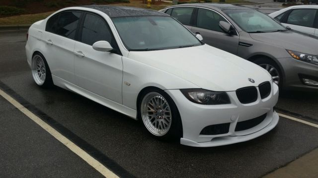 BMW I Sedan Alpine White Twin Turbo Tasteful MODs K - 07 bmw 335i twin turbo