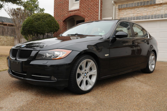2007 Bmw 335i Sport Package Manual Premium Sedan 4 Door Twin Turbo