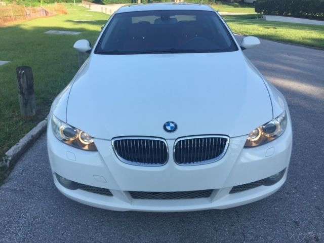 BMW I Twin Turbo Coupe L Automatic RWD WhiteRed - 2007 bmw 335i twin turbo