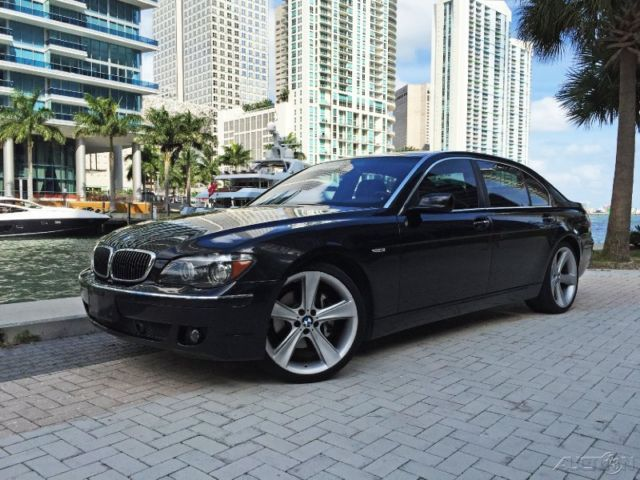 2007 BMW 7 Series Li Over 103k MRSP Night Vision 21 Wheels