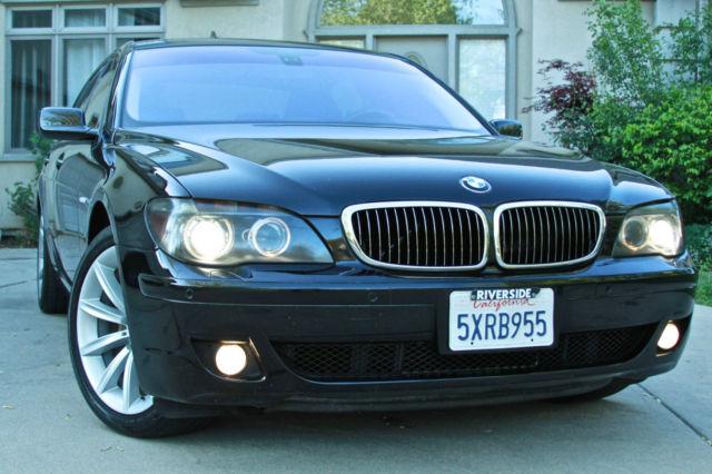BMW IL Black On Black Tint California Car - 2007 bmw 750il