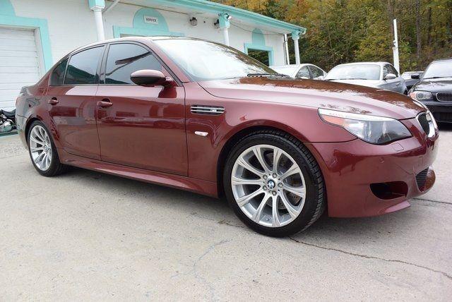 Worksheet. 2007 BMW M5 Base 89800 Miles Indianapolis Red Metallic 4D Sedan