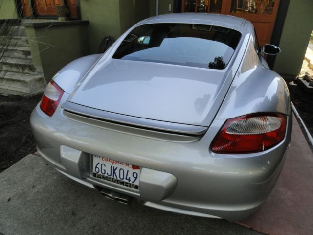 2007 cayman s coupe ceramic brakes low miles bose sound. Black Bedroom Furniture Sets. Home Design Ideas
