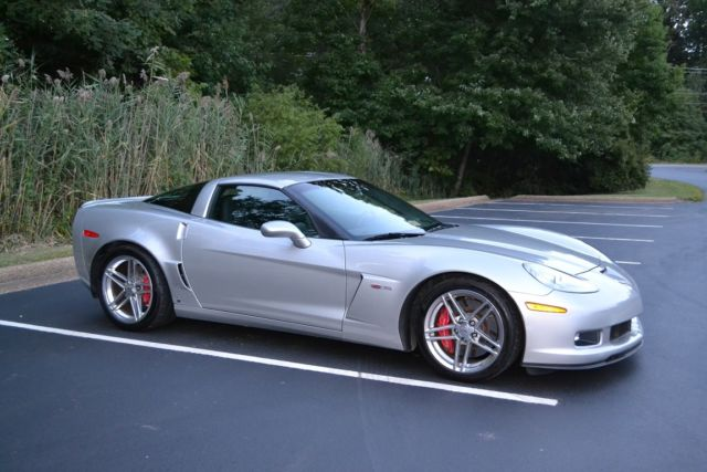 2007 Chevrolet Corvette Z06 Coupe LS7 C6 SILVER LOW MILES ...