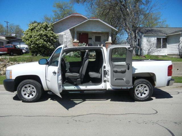 2007 chevrolet silverado 1500 wt extended cab pickup 4 door 4 8l. Black Bedroom Furniture Sets. Home Design Ideas