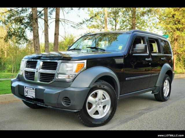 2007 dodge nitro sxt 4x4 120k black newer tires. Black Bedroom Furniture Sets. Home Design Ideas