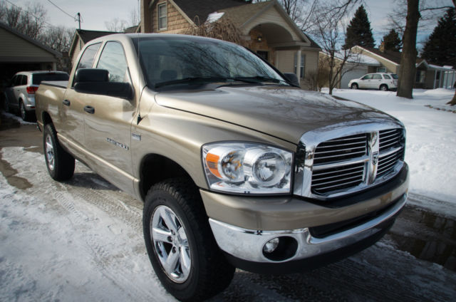 2007 dodge ram 1500 big horn 4x4 5 7 hemi 90k miles. Black Bedroom Furniture Sets. Home Design Ideas