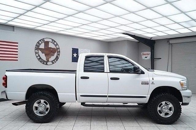 2007 dodge ram 2500 diesel 4x4 slt lone star quad cab 37s texas truck. Black Bedroom Furniture Sets. Home Design Ideas