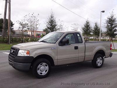2007 ford f150 xl 4 2l v6 5spd manual clean carfax fl truck f 150 rh veh markets com 2007 ford f150 manual pdf 2007 ford f150 manual locking hubs