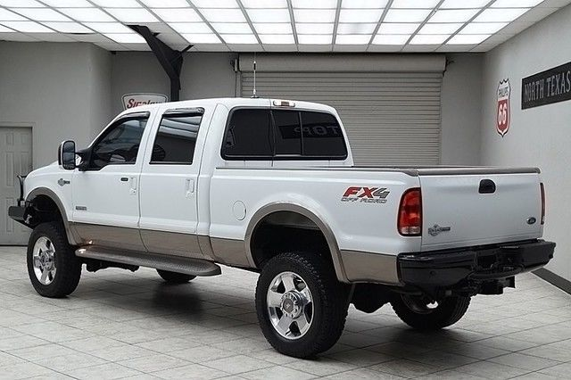 2007 ford f250 diesel 4x4 king ranch fx4 lifted dvd heated. Black Bedroom Furniture Sets. Home Design Ideas