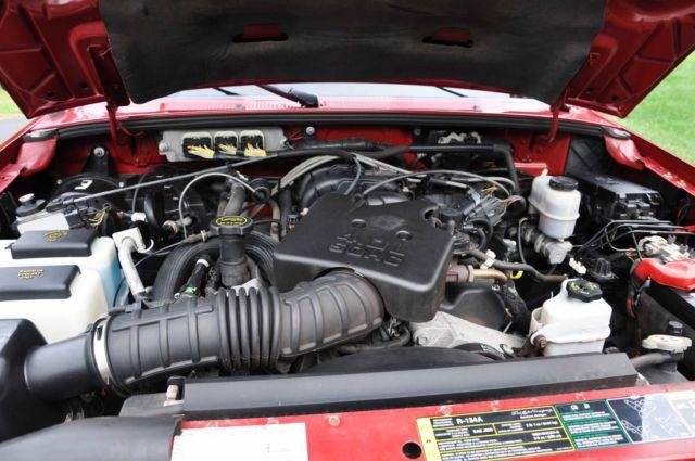 2007 Ford Ranger Xlt Supercab 4x4 4 0l Sohc V6 Engine 5