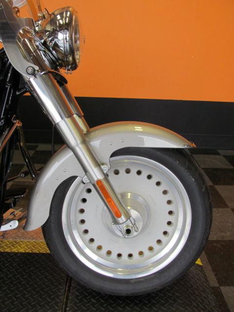 Harley Davidson Saddlebags: 2007 Harley-Davidson Softail Fat Boy