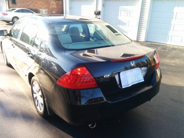 Honda Accord 2007 Technical Specifications