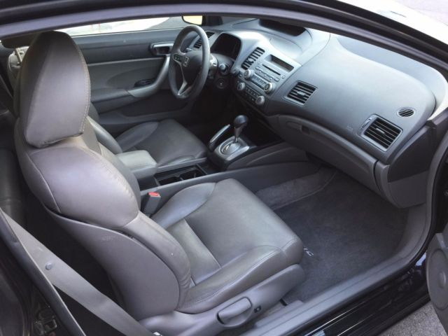 2007 honda civic ex coupe with leather interior. Black Bedroom Furniture Sets. Home Design Ideas