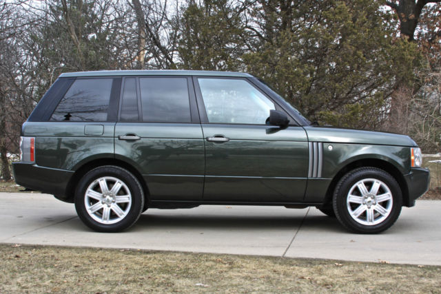 2007 land rover range rover hse california vehicle olive green. Black Bedroom Furniture Sets. Home Design Ideas
