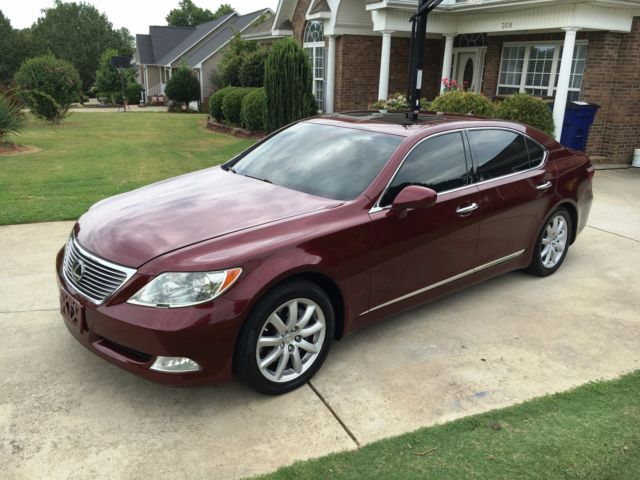 2007 lexus ls460l executive package