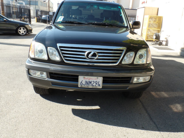 2007 lexus lx470 limited edition low miles well. Black Bedroom Furniture Sets. Home Design Ideas