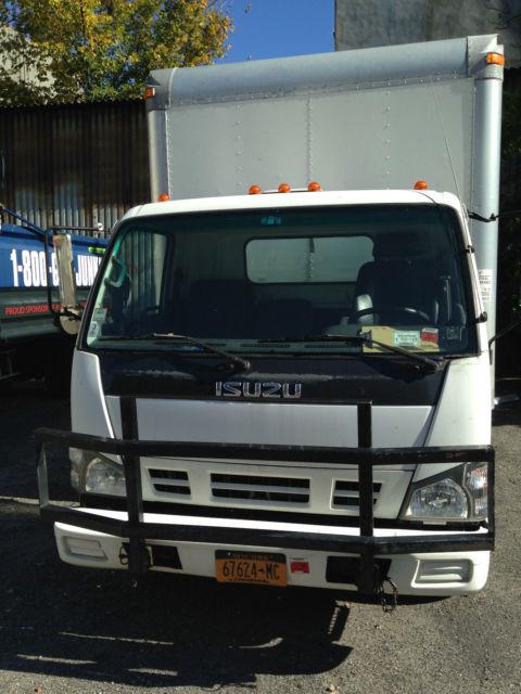Npr Isuzu Diesel Box Truck K Miles Lift Gate Grill Guard Good Tires on 2005 Isuzu Npr Specifications