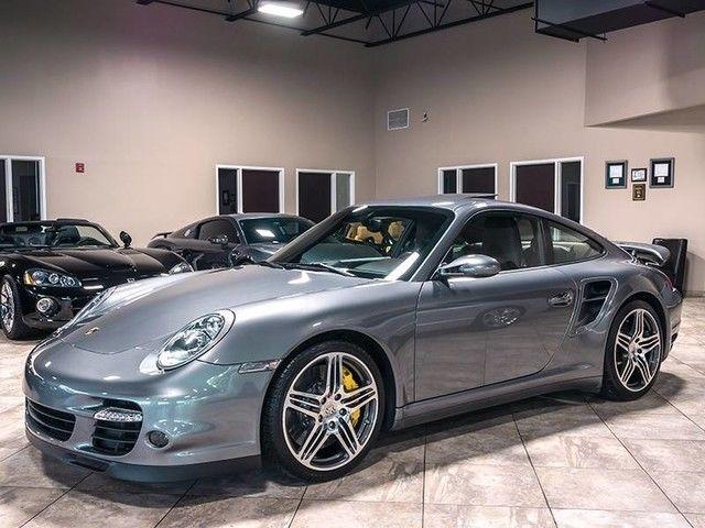 2007 Porsche 911 Turbo Auto Meteor Gray Ams Alpha 9 More