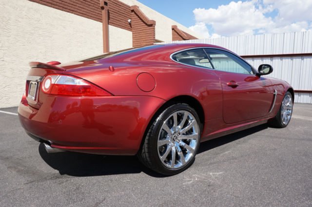 2007 Red Jaguar Xk Series Coupe Like 2003 2004 2005 2006 2008 2009 2010 2011 Xkr