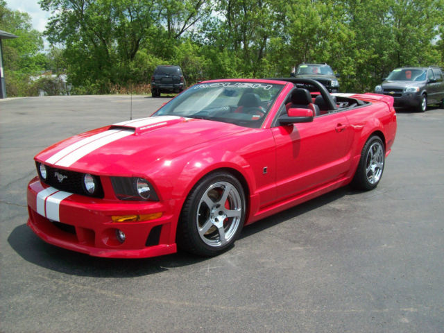 Roush Stage 3 >> 2007 Roush Stage 3 Convertible Ford Mustang