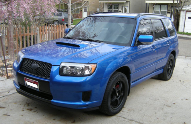 2007 Subaru Forester Xt Sport World Rally Blue 88k Miles