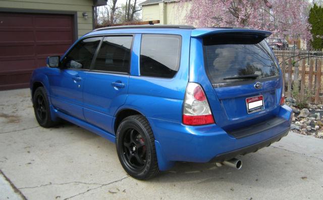 2007 Subaru Forester Xt Sport World Rally Blue 88k Miles