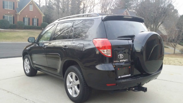 2007 TOYOTA RAV4 SUV LIMITED EDITION, V6, 4X4, BLACK, ONLY ...