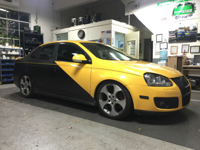 volkswagen jetta gli fahrenheit edition  spd  turbo