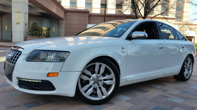 2008 audi s6 base sedan 4 door 5 2l v10 rare very fast. Black Bedroom Furniture Sets. Home Design Ideas