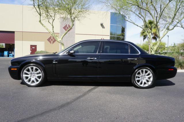 2008 Black Jaguar Xj8 L Clean Carfax Like 2005 2006 2007