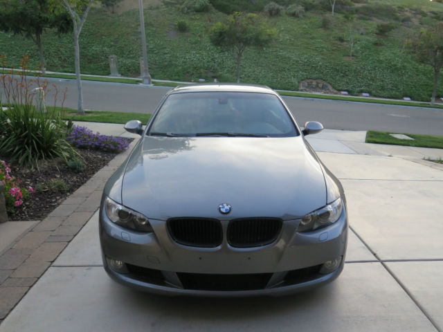 Best Cars Under 100000 >> 2008 BMW 335i Hard-Top Convertible - Silver / Black ...