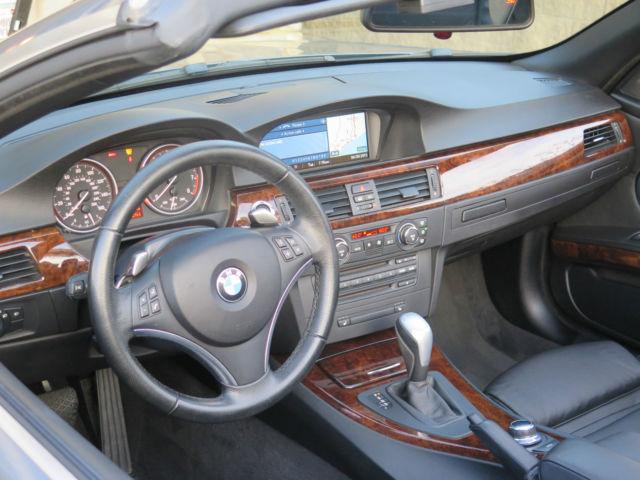 2008 Bmw 335i Hard Top Convertible Silver Black Custom Rims