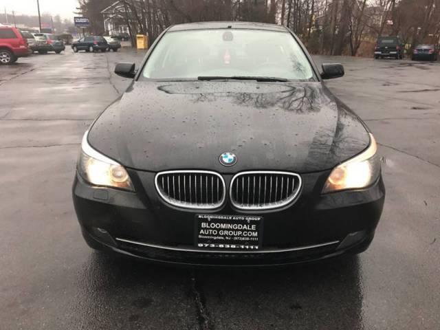 2008 BMW 5 Series 535xi Black 4dr Car Straight 6 Cylinder