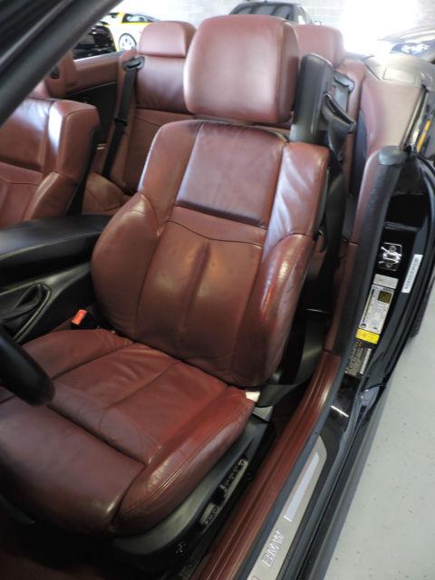 2008 bmw 650cic mint clean black w oxblood red interior loaded m6 wheels. Black Bedroom Furniture Sets. Home Design Ideas