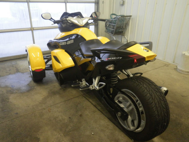 Toyota Danville Il >> 2008 Can-am Spyder Rotax 990 Yellow Can Am Trike