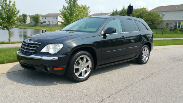 2008 Chrysler Pacifica Limited Sport Utility 4 0l Clean