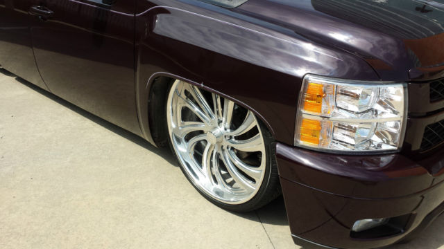 "2008 CUSTOM BAGGED OUT CHEVROLET SILVERADO ON 26"" FOOSE ..."