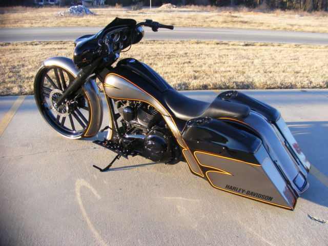 2008 Custom Harley Davidson 30 Big Wheel Bagger Street