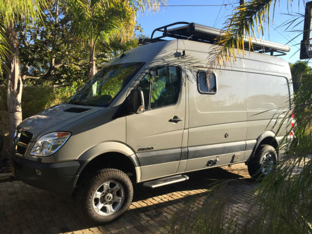 2008 dodge sprinter 4x4 sportsmobile. Black Bedroom Furniture Sets. Home Design Ideas