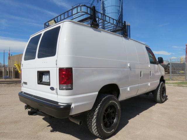 2008 Ford E-350 Custom 4x4 Passenger / Cargo Camping Van ...