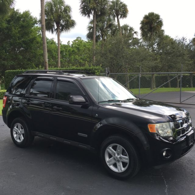 2008 Ford Escape Hybrid Limited Sunroof Leather Serviced 34 30 Mpg Loaded