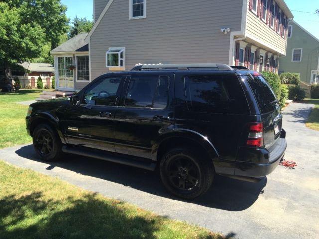 2008 ford explorer blacked out. Black Bedroom Furniture Sets. Home Design Ideas