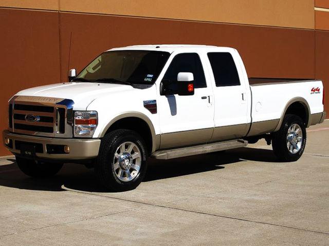 2008 ford f 350 sd king ranch crew cab long bed 6 4l diesel 4x4 nav tv dvd. Black Bedroom Furniture Sets. Home Design Ideas